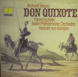 Richard Strauss Vinyl LP Don Quixote Deutsche Grammophon 2535 195 UK