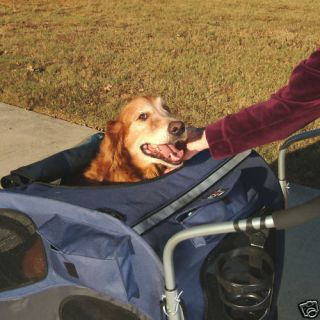 Large Dog up to 110 lbs Pet Bicycle Bike Trailer Stroller Jogger