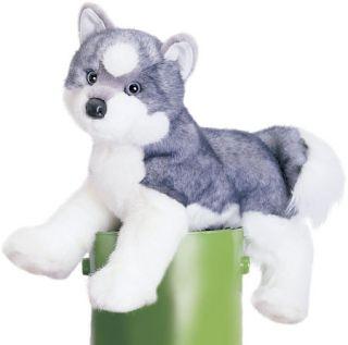 Plush Toy Purebred 16 Sasha Siberian Husky Puppy Dog Stuffed Animal