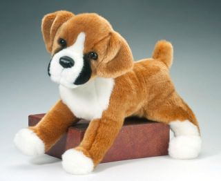 Douglas Plush 16 Boxer New Soft Stuffed Animal Dog Toy