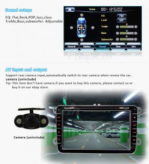 New Car Radio CD DVD Player GPS Android 3G WiFi DVB T TV F VW Jetta