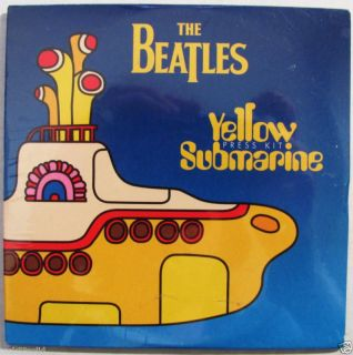 Beatles Yellow Submarine Promo DVD 1999 Factory SEALED