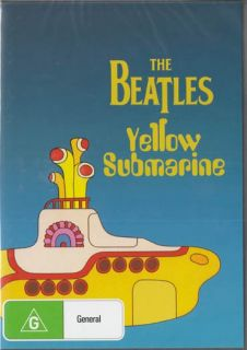 THE BEATLES YELLOW SUBMARINE ALL TIME CLASSIC NEW SEALED DVD