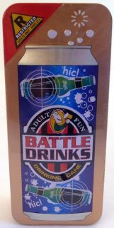 Battle Drinks Fun Adult Alcohol Drinking Party Game New