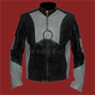 Starks Genuine Leather Jacket Robert Downey Jr Replica New