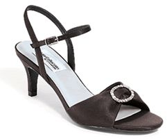Dyeables Hot Stuff Formal Wedding Prom Shoes Black 9 5