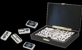 Harley Davidson Domino Game Set Lightning Glossy Case