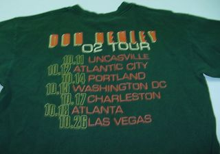 Don Henley The Eagles 2002 Concert Tour T Shirt Sz Mens L