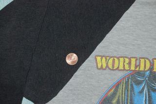 Vintage Iron Maiden World Piece Tour T Shirt 1983 M