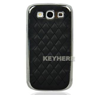 Sheepskin Aluminum Hard Back Cover Case for Samsung Galaxy S3 i9300