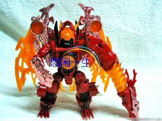 Transformers Beast Wars Red Dragon Megatron KO New MISB