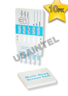 10 12 Panel DIP Drug Test Testing Kits 12 Diff Drugs