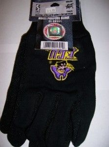 NCAA ECU East Carolina Pirates Multi Purpose Gloves Black