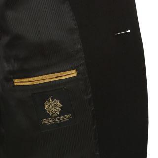 New Mens Donald Trump Black 100 Cashmere Sport Coat Jacket Blazer