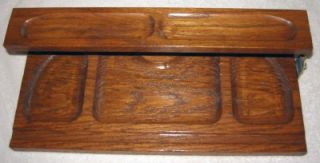Excellent New Dante Mens Wood Dresser Valet 2 Tiers Royal Oak