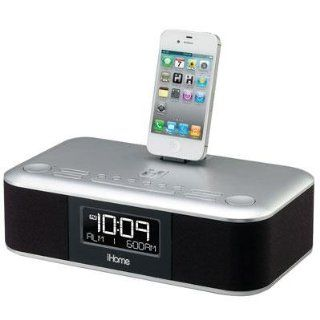iHome iD95GZ Dual Alarm Clock Radio with LCD Display for iPad/iPhone