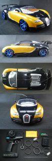 ePacket to USA RC 1 14 Drifting Drift Car Bugatti Veyron Gold RTR