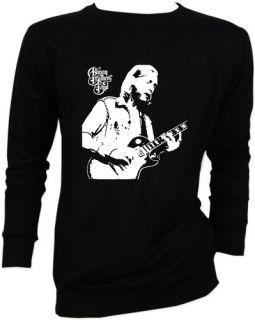 Duane Allman Brothers Guitar Rock Sweater Jacket s M L