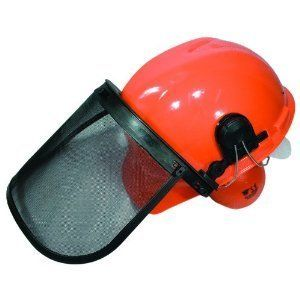 Protective Safety Helmet System Hard Hat Ear Muffs Face Shield