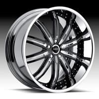 22 MHT Dub Mirage Wheels Rims Mercedes s CL 550