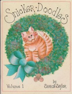 Snicker Doodles Decorative Tole Painting Pattern Book