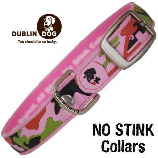 Dublin Dog No Stink Dog Collars Camo Downtown Diva Waterproof Dog