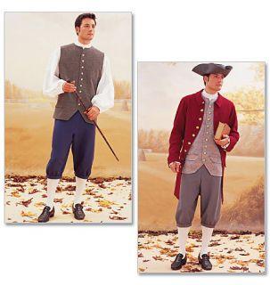 Sz 38 42 1700s Costume Sewing Pattern Butterick 3072