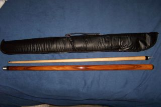 Dufferin 2 Piece Pool Cue with Case