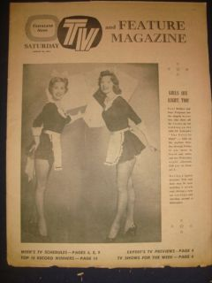 News TV Magazine Jayne Mansfield Doris Day 22 August 1959