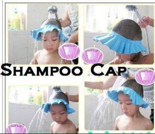 NEW Safe Kids Shampoo Shower Bath Cap for Baby Babies Children Hat