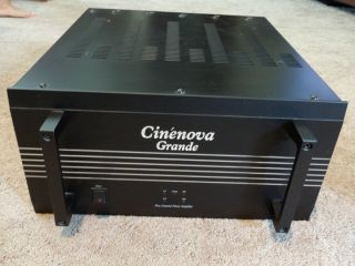Earthquake Cinenova Grande Five Channel Power Amplifier