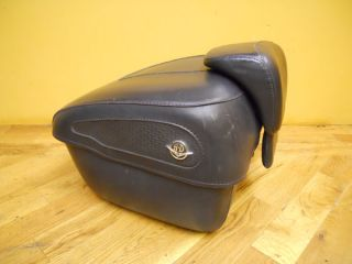 Harley Davidson Softail Sportster Touring Models Leather Tour Pak Pac