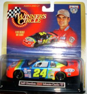 Jeff Gordon Winners Circle 1 43 Diecast Racing 24 Dupont Car