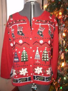 Ugly Christmas Sweater Unisex   S   Immediate Ship w/Buy Now