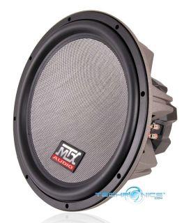 MTX Audio 400W RMS 10 T8000 Thunder Series Dual Voice Coil Car Stereo