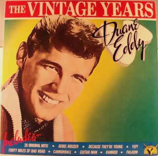 Duane Eddy The Vintage Years USA Double Album