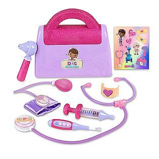 Doc McStuffins Time for Your Check Up Doll w Lambie Doctors Bag Brand