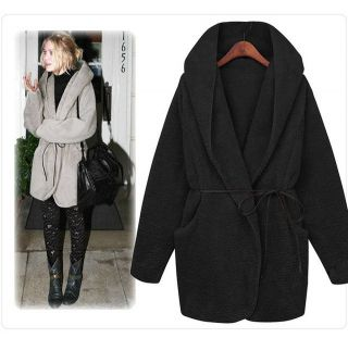 Winter Warm Hoodie Down Warm Outerwear Cardigan Jacket Coat New