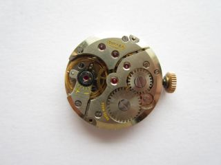 Doxa Cal 8¾ 67 Sub Seconds Watch Movement Swiss Runs and Keeps Time