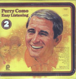 Perry Como Easy Listening 2LP NM VG Canada XS 9002