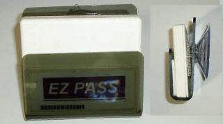EZ I Pass Holder and Cover Tight Fit Thin Transponder
