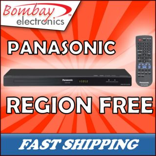 Panasonic Multi Zone All Region Code Free DVD Player $$