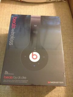 Beats Wireless Headphones by Dr Dre MONSTER Audio Brand New in Box