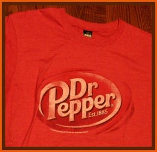 Dr Pepper Soda Pop T Shirt L