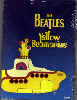 Yellow Submarine The Beatles 1999 Movie DVD Concerts New