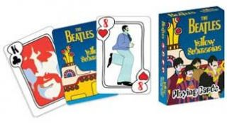 the beatles yellow submarine playing cards 52135 the beatles card deck