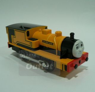 TOMY TRACKMASTER THOMAS AND FRIEND DUNCAN MOTORIZED Train T32A
