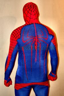 The Amazing Spiderman Costume   Replica Spidey Suit 2012 Movie Version