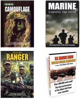 Official US Military Documentary DVDs USMC Army Etc