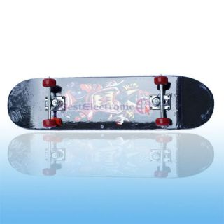 New Blue Dragon Complete Skateboard 8 Deck Skateboards
